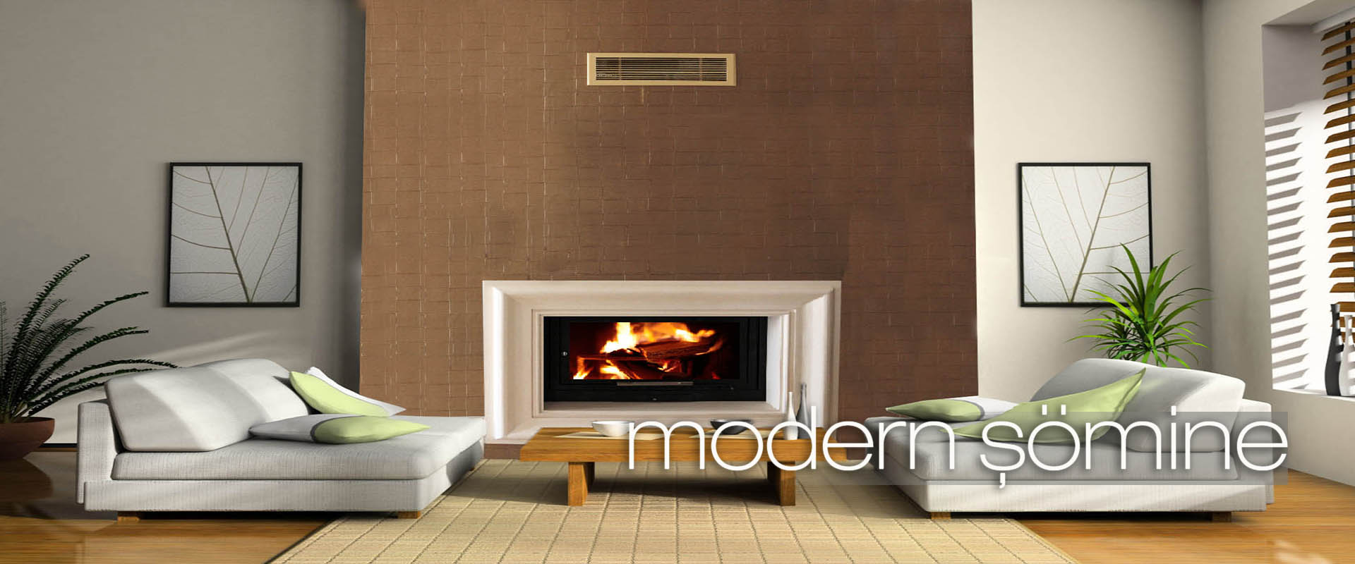 Green interior fireplace modern atmospheric lounge living room